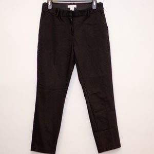 H&M Black Dress Pants W/Elastic Waistband